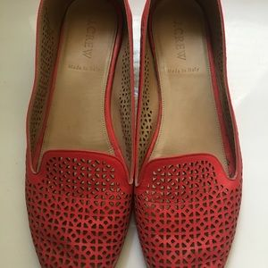 J. Crew Cleo Perforated Smoking Loafer